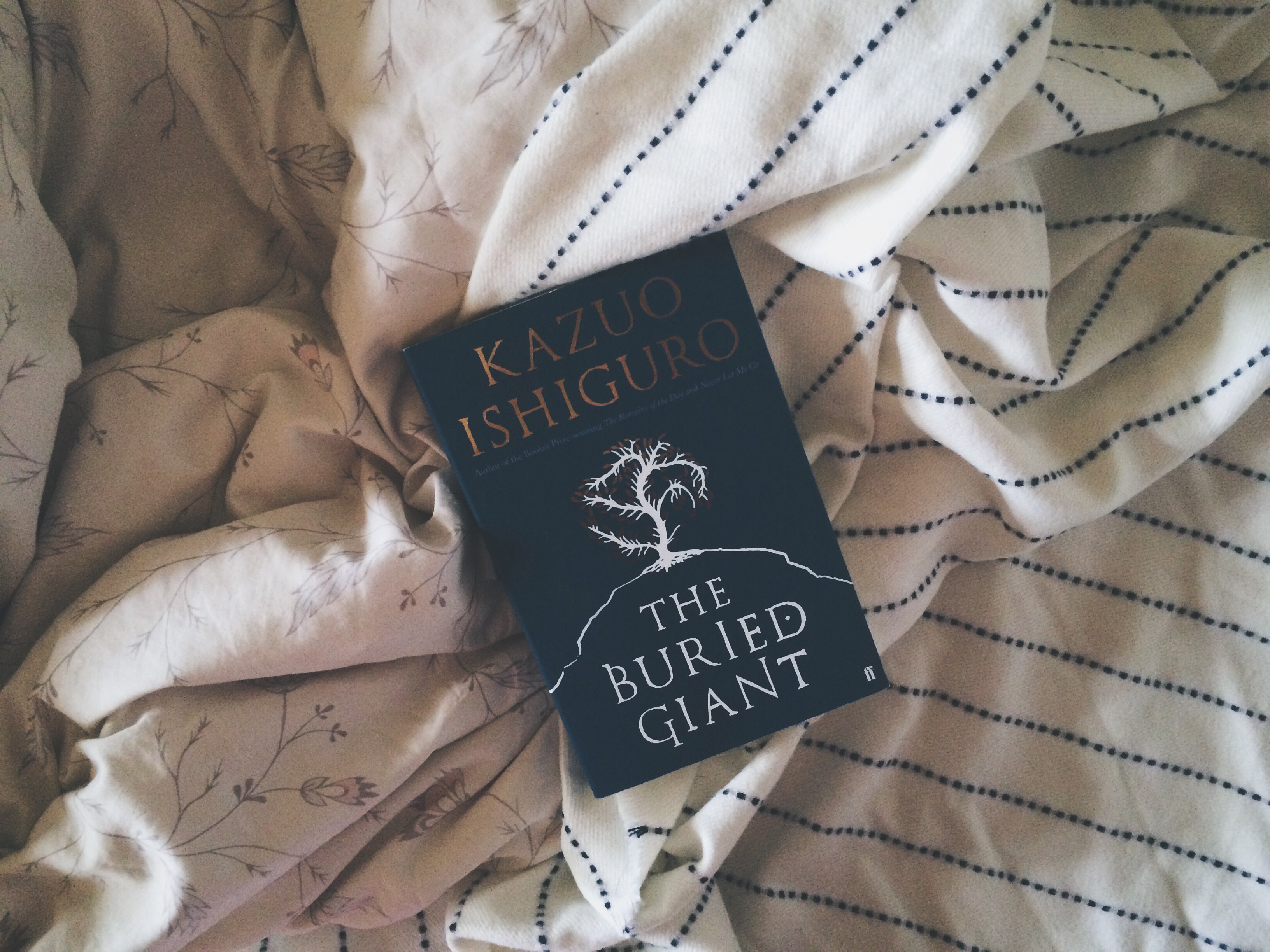 Kazuo Ishiguro, The Buried Giant, Book, Bramble and Thorn