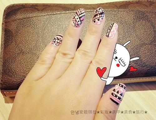Blog//Nail-民俗風