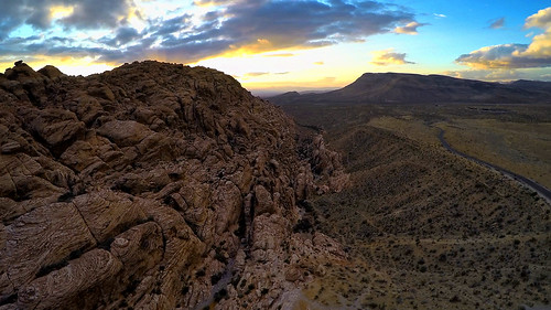 old red mountain west rock sunrise landscape photography video sandstone desert lasvegas nevada dune 4 hill canyon aerial mojave hero petrified fpv gopro multicopter calico1
