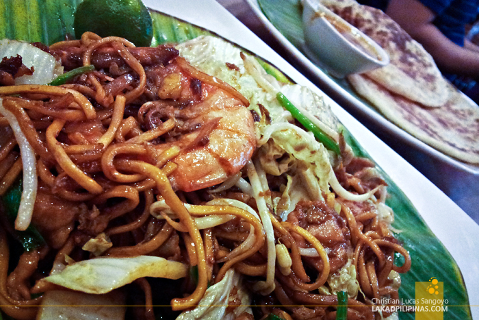 Mee Goreng at Martabak Cafe in MOA