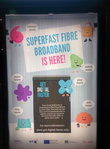 Consume Superfast fibre broadband?