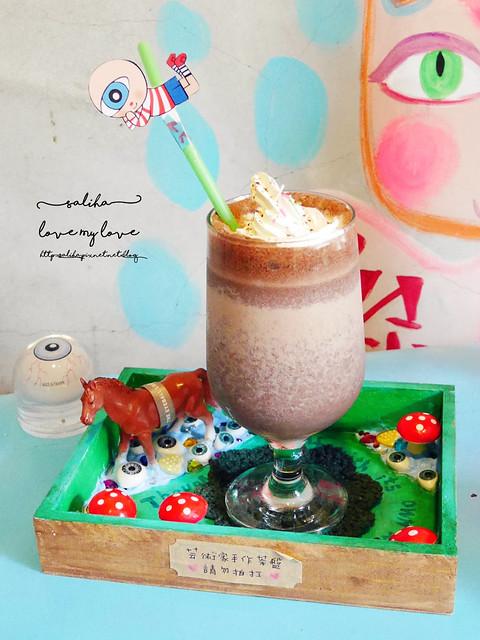 台北不限時下午茶推薦眼球咖啡插畫家咖啡 (1)