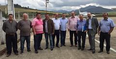 21 07 2016 - Manhuaçu - 21 07 2016 - Manhuaçu - Tuca, Gedival Breder, Prefeito Valtinho, Prefeito Bó, PAA, Sergio Breder, Sebastião Costa, André Myssior, Pedro