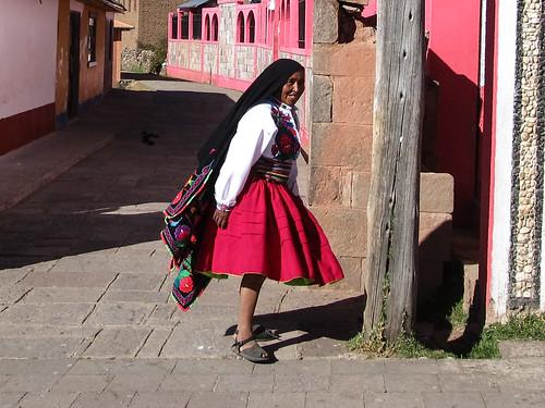 Lac Titicaca: Serafina, notre hôte sur l'île d'Amantani