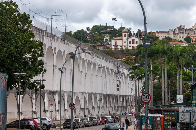 Arcos da Lapa, Lapa, Rio de Janeiro, Brasil