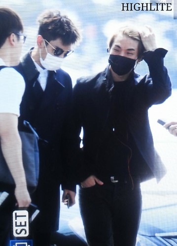 Big Bang - Incheon Airport - 29may2015 - Dae Sung - High Lite - 01