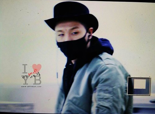 Big Bang - Gimpo Airport - 27feb2015 - Tae Yang - Urthesun - 02
