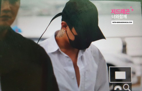 Big Bang - Incheon Airport - 24jun2016 - With G-Dragon - 01