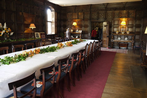 Coughton Court Dining Room