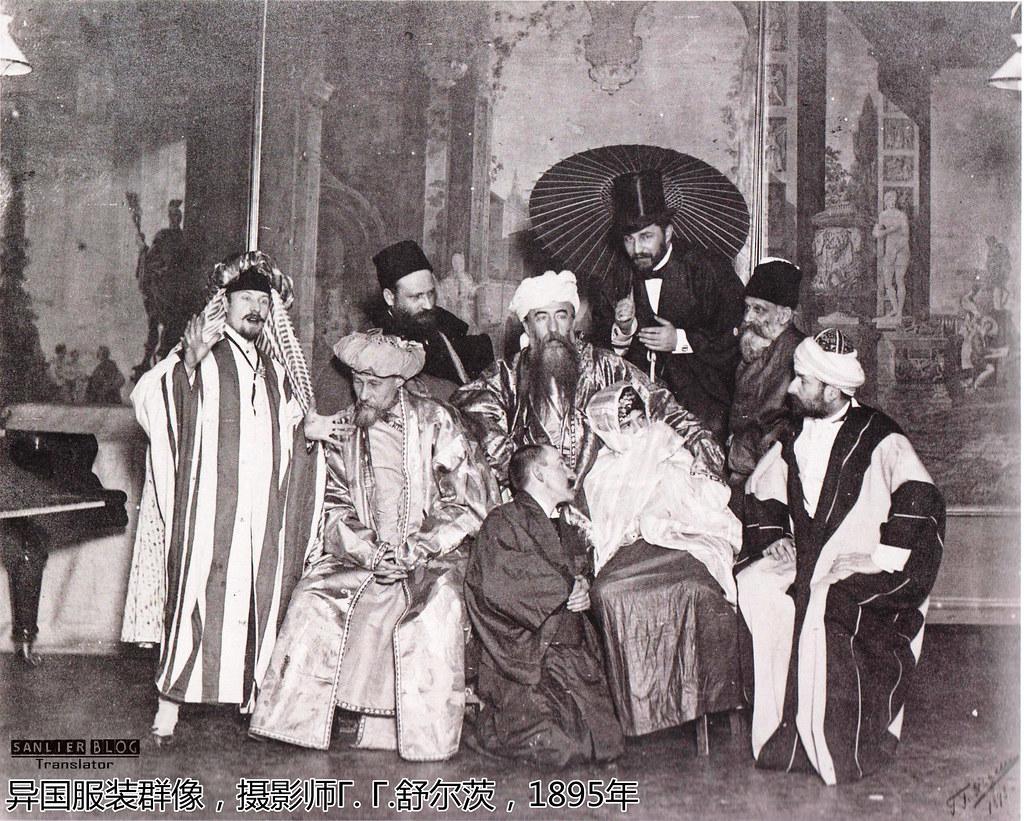 19世纪末-20世纪初俄罗斯人像摄影(22张)09