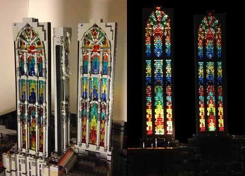 transept windows
