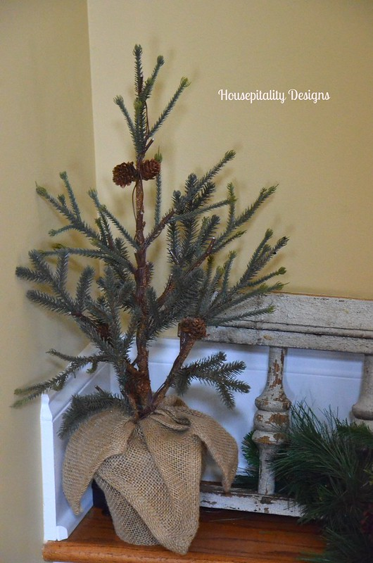 Pottery Barn Pine Tree-Housepitality Designs