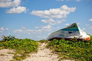 Boat, shot @ Punta Allen, Quintana Roo, Mexico. Foto: Stephan Benz