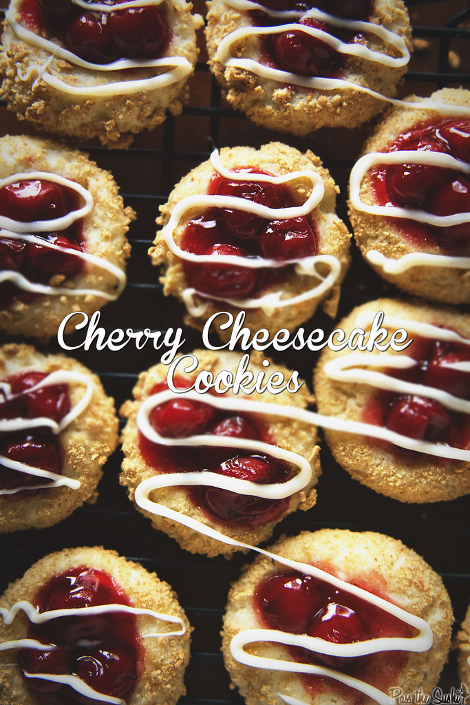 Cherry Cheesecake Cookies & 100 of the best cookie recipes for Christmas | PasstheSushi.com