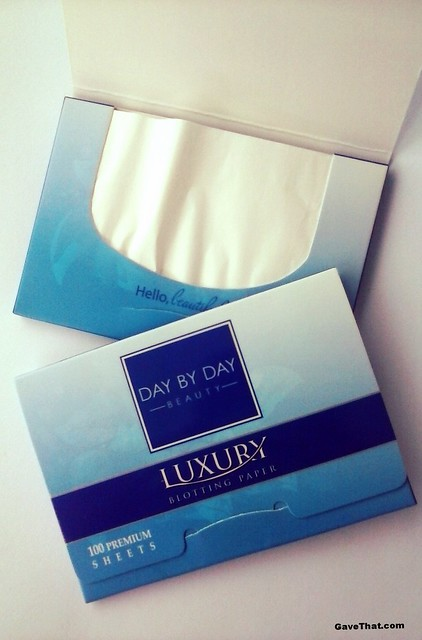 Day by Day Beauty Luxury Blotting Papers