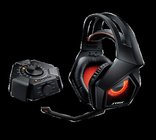Strix 7.1 True 7.1-channel Surround Gaming Headset