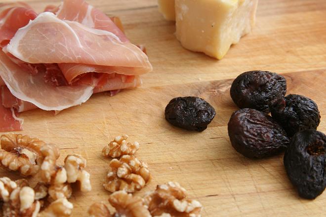 arugula salad figs prosciutto 1