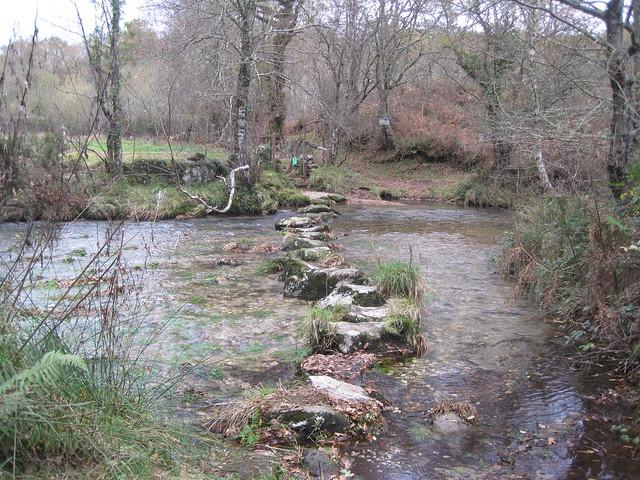 Pasos dos Campos en el río Barragán
