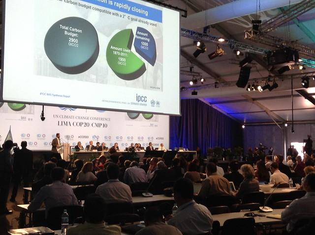 COP20 Climate Negotiations; Lima, Peru