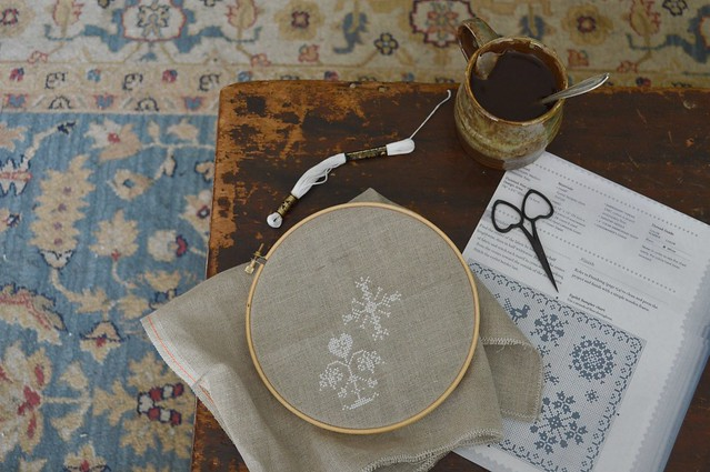 White Cross Stitch