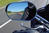 Bikes in mirror
