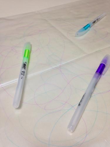 蛍光油性ペン
