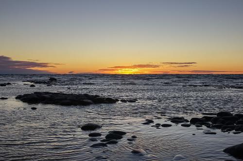sunset lake water all michigan lakemichigan goodhart 2013