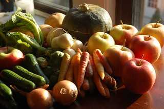 Last Farmer's Market Haul of the Season!