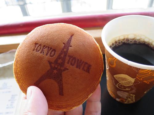 東京タワーのどら焼き