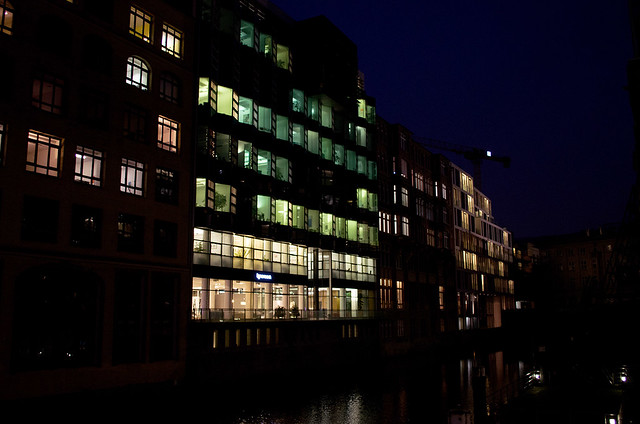 Lights of Hamburg