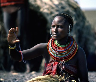 El Molo Woman, Lake Turkana, Kenya
