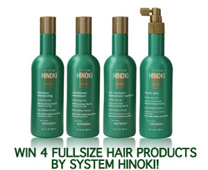 giveaway hair loss thinning products haircare