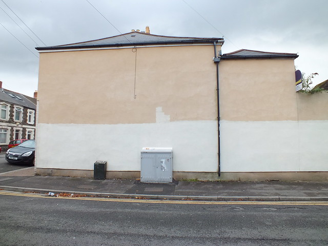 Empty Walls 2014: HB and Colour Doomed blank wall