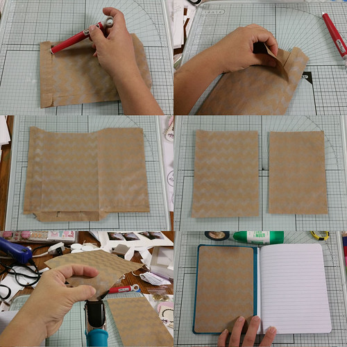 Altered Composition Book Process | shirley shirley bo birley Blog