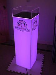 Lighted Frosted Acrylic for Ideal 420 Soil with Dust Cover