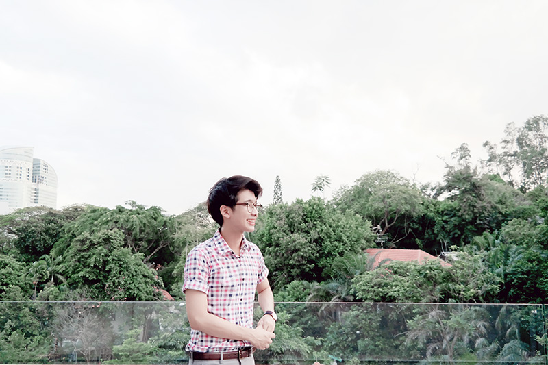 red and white checked shirt ootd typicalben
