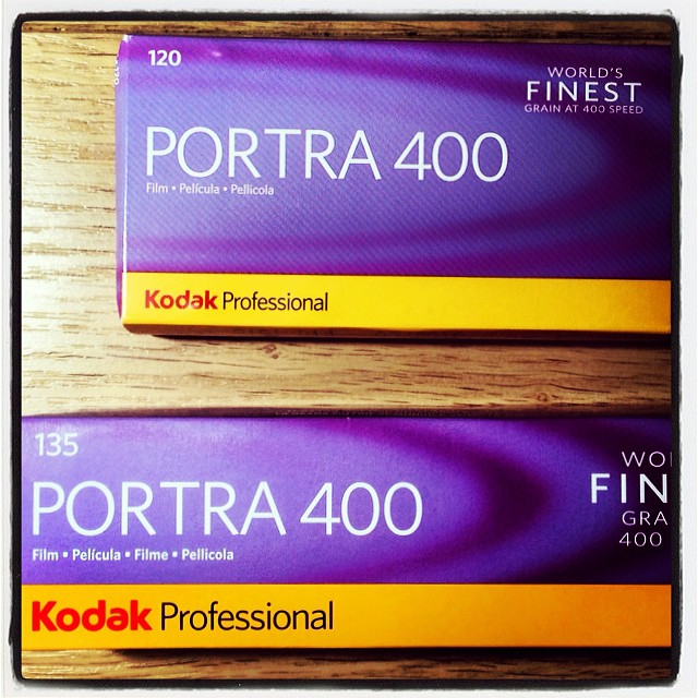 Kodak Portra 400 film - 120 & 35mm :)