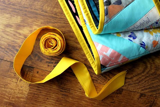 Canary Yellow binding!
