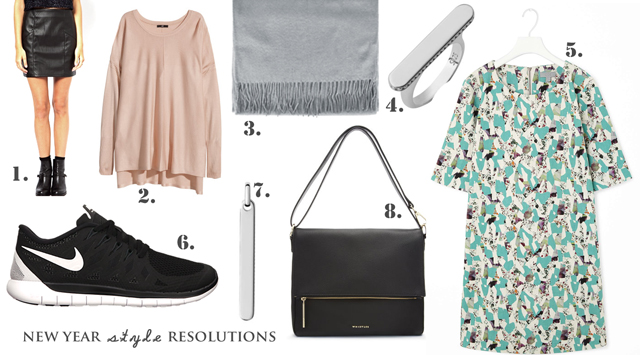 new year style resolutions