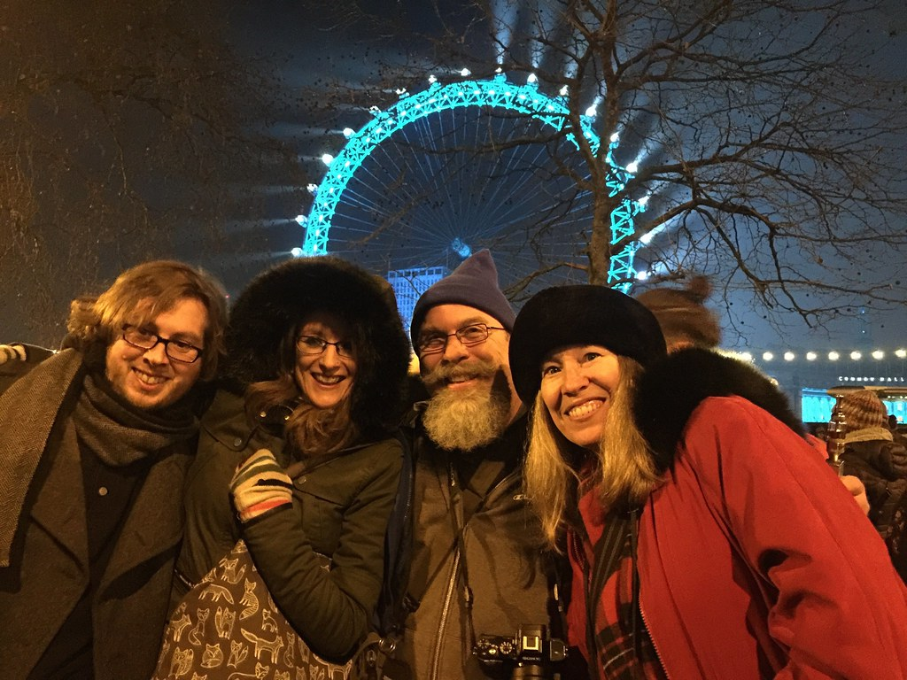 Good friends and good times for NYE 2015 in London
