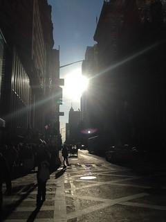 Manhattan: Winter Afternoon