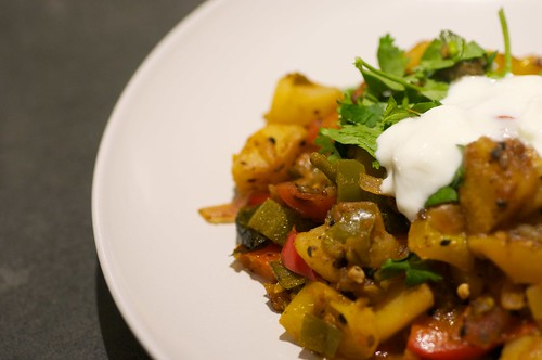 Meatless Monday - Indian Ratatouille