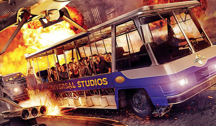 Fast and Furious Tram