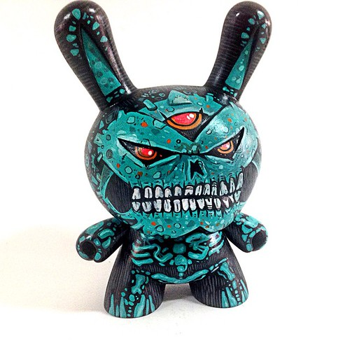 #dunny #kidrobot #custom #frankmysterio #forsale #azteca for sale 180 dollars plus 15 for shippings