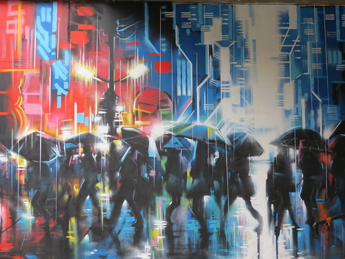 Dan Kitchener (DANK) - Southbank, London