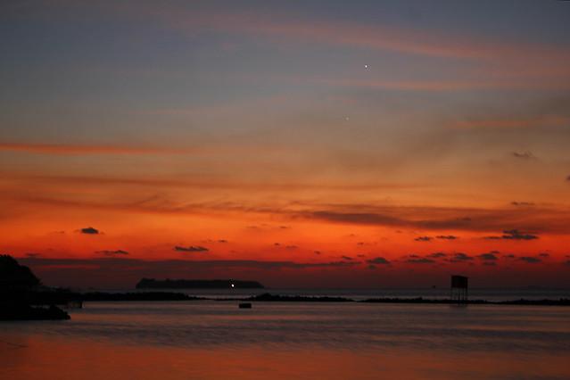 Sunset - Maafushi island, Maldives