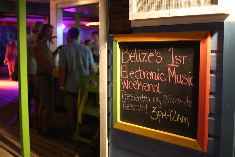 Belizez Electronic Music Weekend 2015, Placencia