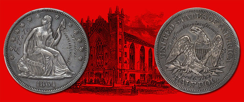 MORE ON THE 1864 BOSTON MASONIC TEMPLE HALF DOLLAR
