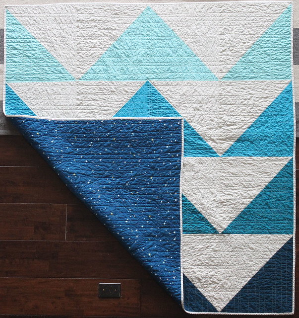 Big Geese Quilt Back