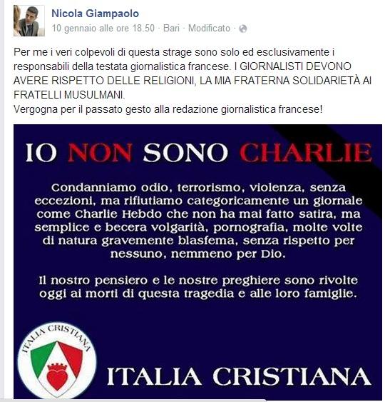 Il post di Nicola Giampaolo